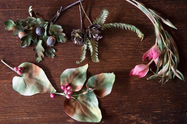 布花コサージュ(前編)|布を染めてつくる植物。愛らしい実ものづくりを体験。講師:伊藤貴之さん(turbo)