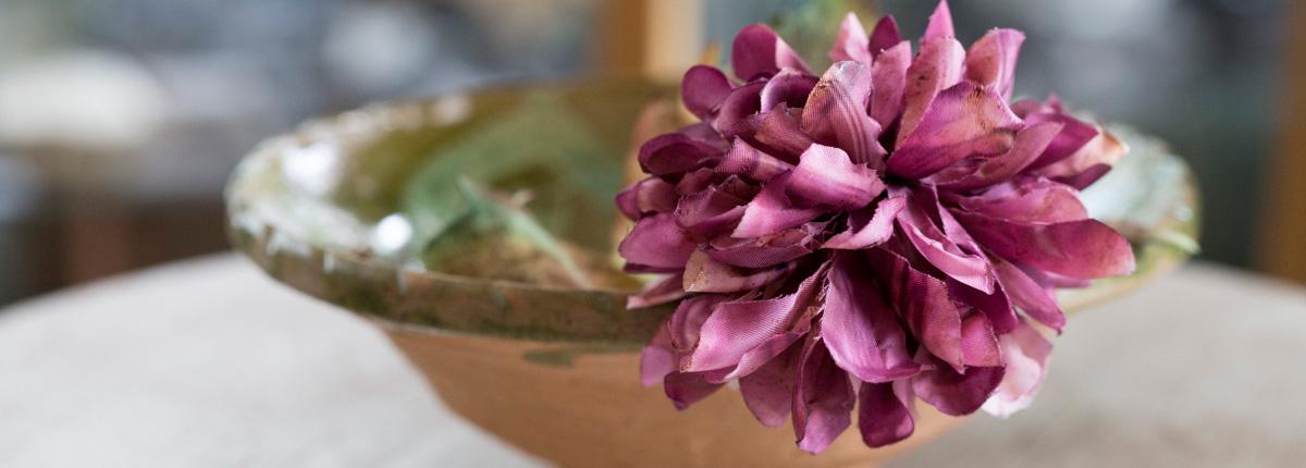 布花コサージュ(後編)|布花づくりの魅力とは? アンティークコサージュ復元のお話。講師:伊藤貴之さん(turbo)