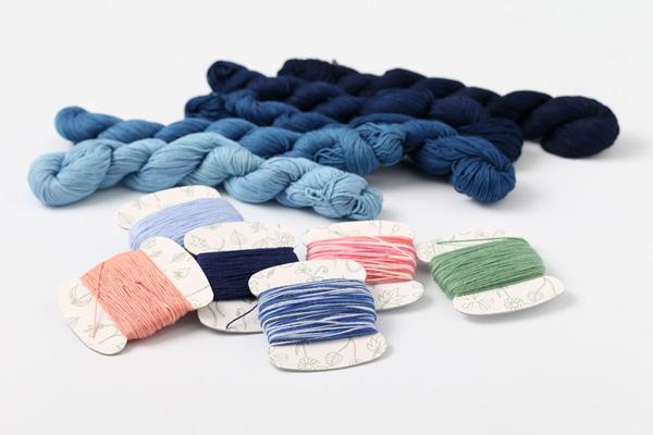刺繍糸(3)|日本刺繡の糸、刺し子やこぎん刺しの糸・・・。刺繍糸の仲間はまだまだあります。