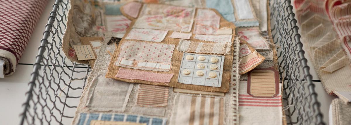 パッチワーク(前編)|歴史への好奇心から始まった古い布の収集。膨大なコレクションから生まれる新しいアイデア。講師:カーリ・メンさん(French General)