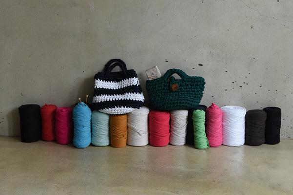 『ズパゲッティで編むバッグと雑貨』出版記念イベント「Zpagettiから始める、編み物のある暮らし」 2018.1.24(Wed)ー2.6(Tue)東京