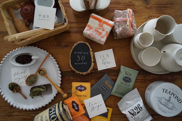 30 min. creation 第2話(前編)毎日のお茶の習慣|パケ買いしちゃうほど素敵なパッケージはデザインをすかさずスケッチ!