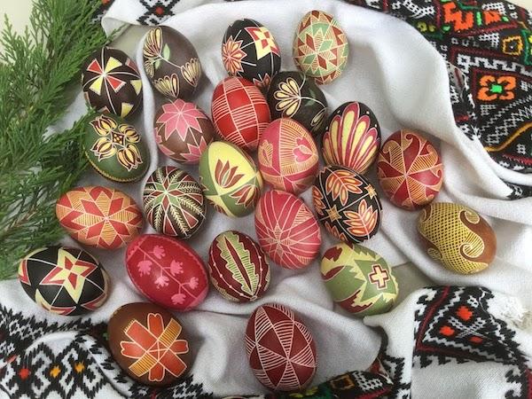「春 ウクライナ事始 お祝いの卵・プイサンカを作ろう」 2018.3.28(Wed)-4.16(Mon) 東京