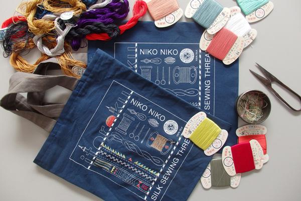 新しい刺繍体験。「刺繍作家atsumi×糸六」のコラボレーションワークショップが開催されます!