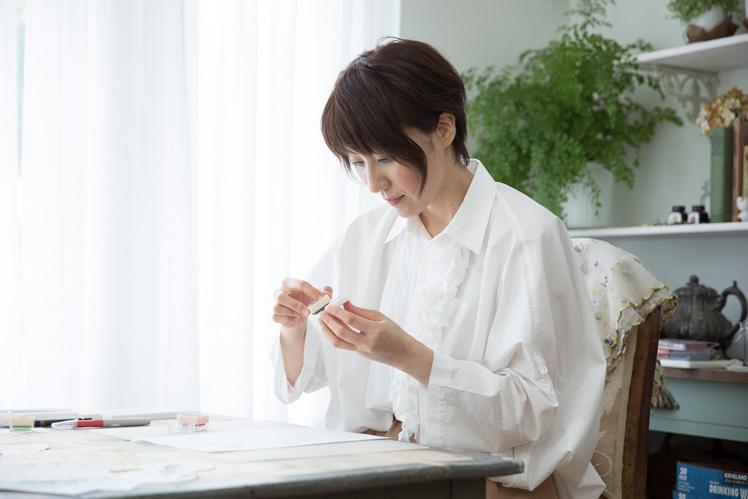 田口奈津子さん(後編)|紙だけじゃない、小物だけじゃない。さまざまなアイデアで広がる消しゴムはんこの可能性