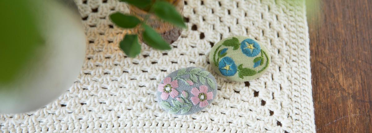マカベアリスさん(前編)|さりげなく美しく、力強く。リネンに芽吹く表情豊かな花刺繍