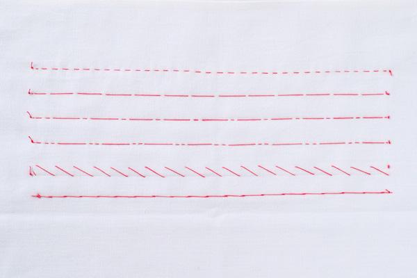 第6回 しつけ糸としつけの方法(後編)|布がずれにくい「置きじつけ」、印つけ用の「切りじつけ」など、覚えておくと制作スピードと仕上がりに差が出ます。