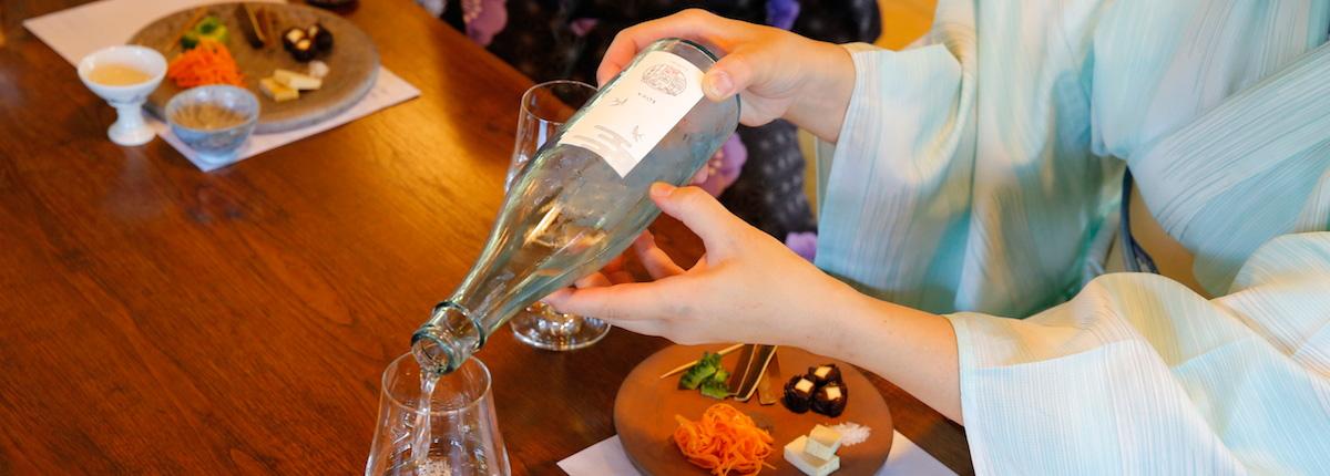 美しく酒をのむ(後編)|「五味のおつまみ」×5種の酒。鮮やかなマリアージュに刺激され、眠っていた五感が動き出す。