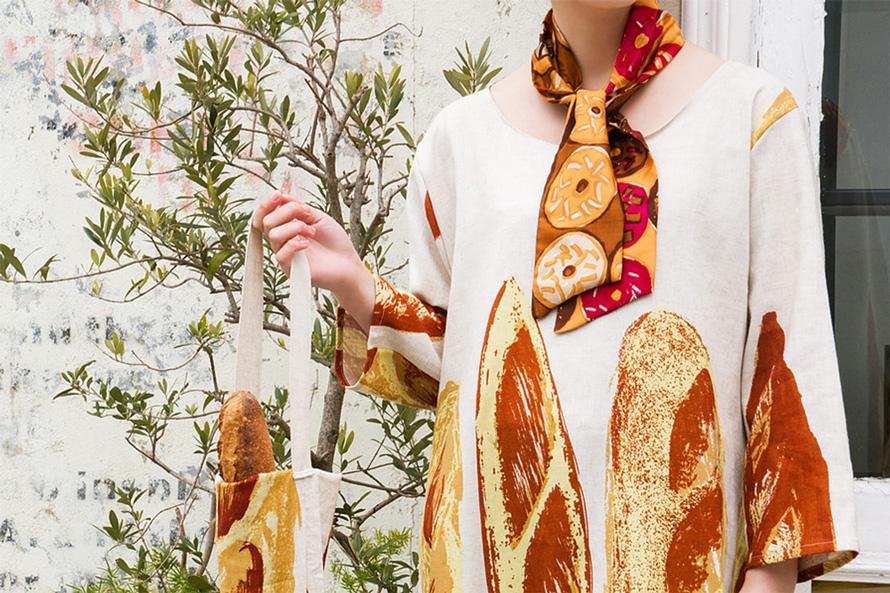 つくりら文化祭*出展者紹介 gochisou |食をテーマにデザインするテキスタイルブランド 2018.10.19(Fri)-20(Sat) 東京