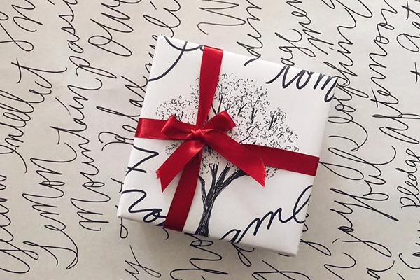 30min.creation 第10話(前編)包装紙をつくる|印刷しなくてもつくれる! オリジナル包装紙のとっておきアイデア