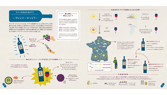 大人のためのワイン絵本