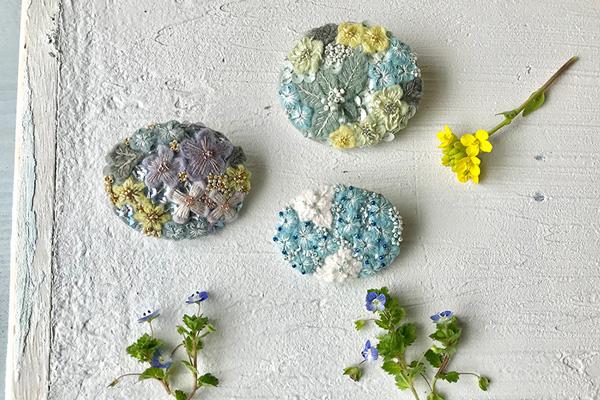 草木染めのクチュール・アクセサリー「いまノいろ*いまノはな」 2019.3.25(Mon)-3.31(Sun) 東京