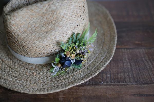 二十四節気 暦のレシピ 第3話 立夏|麦わら帽子に似合う「ボタニカル・ハットピン」