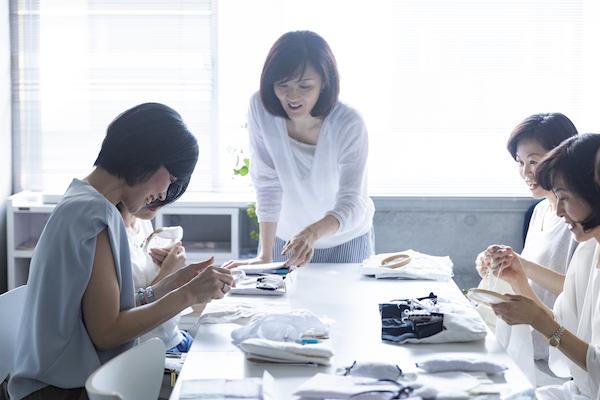 中野聖子さん(後編)|ホワイトワークを人に伝え、いいと思っていただける作品をつくり続けること。それが生徒さんへの恩返しだと思っています。