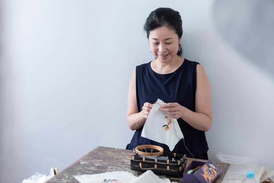 ささきみえこさん(前編)|ノスタルジックな気分で楽しみたい、刺繍×フェルトの幸運モチーフ