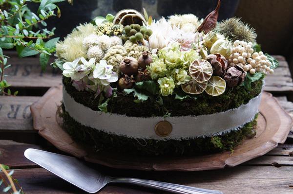 つくりら主催ワークショップ  deuxRさんの「秋の実りのケーキ」