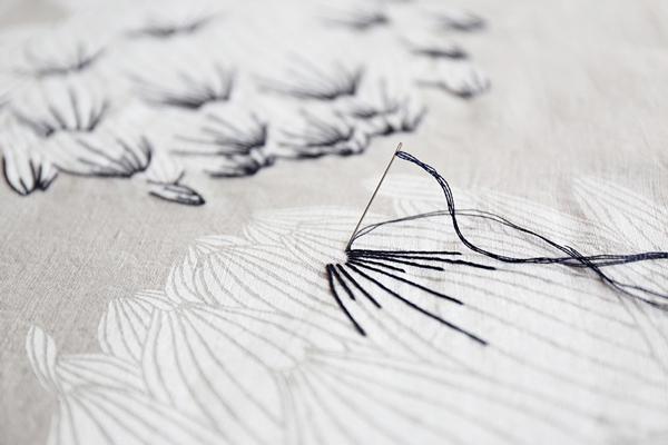 秋冬に欲しくなる手仕事の一品。リネン×ウールのバッグと洋服。「雲の切れ間から」fabrica uka 作品展 2019.10.2(Wed)-2019.14(Mon) 東京