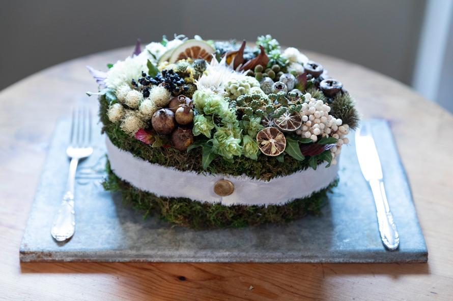 つくりら主催ワークショップ開催レポート(前編)|deuxRさんの「秋の実りのケーキ」