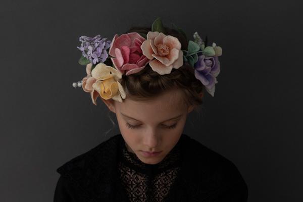 アトリエFilさんの立体刺繍。「刺しゅう作品展 Flowers」 2019.10.15(Tue)−10.20(Sun) 東京