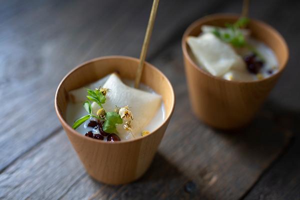 二十四節気 暦のレシピ 第15話 立冬|カモミール豆乳のお汁粉
