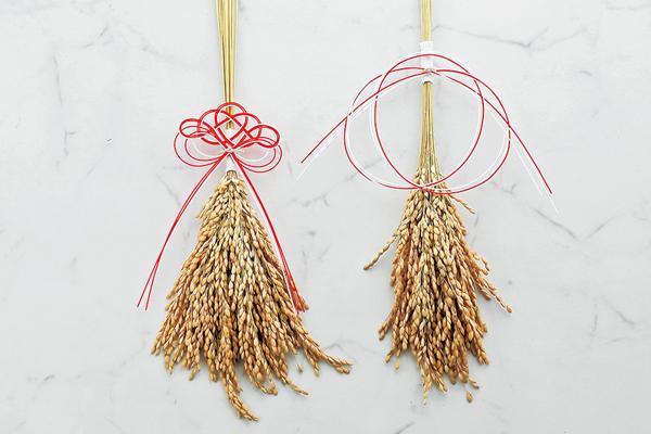 水引で稲穂のお正月飾りをつくる。水引作家・高橋千紗さんのワークショップ