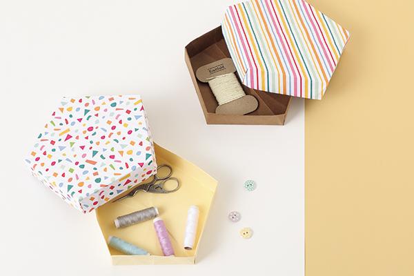 いろんな用途に使える!折り紙でつくる小物の収納に便利な箱