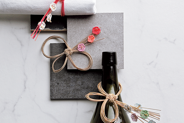 Napkin Ring & Bottle Ring [花づくしのナプキンリング、ボトルリング]