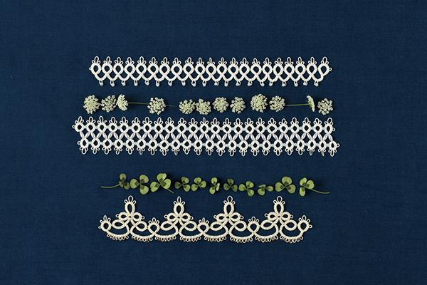 1本の針で編むタティングレース Ⅳ