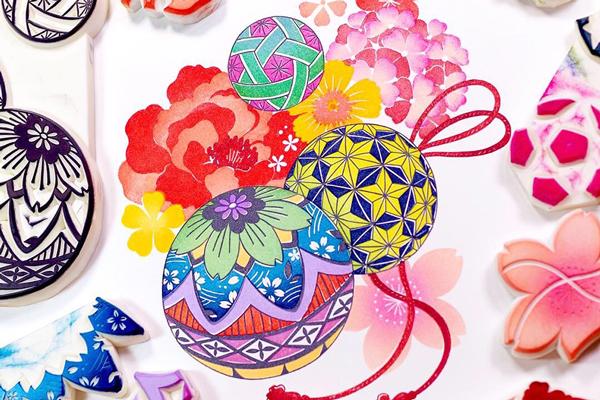 消しゴムはんこで魅せるアートの世界。田口奈津子さんの「季節を紡ぐ消しゴム版画展」2020.1.7〜2.2 東京