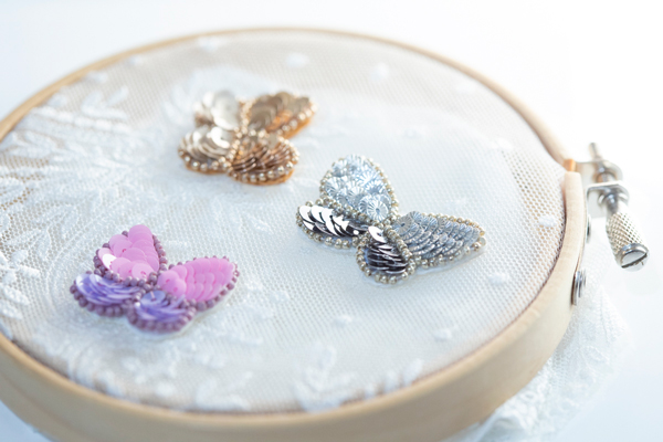 相馬美保さん(前編)|華やかで多彩な表現が可能なリュネビル刺繍。その豊かな時間を暮らしに