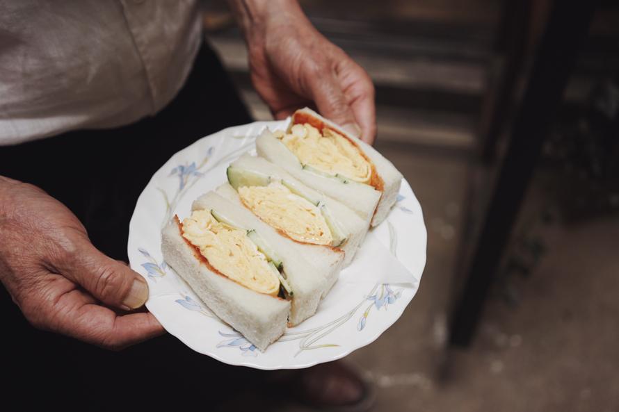 喫茶店「佛蘭弗」の玉子サンドイッチ。|Favorite things 第11話(後編)