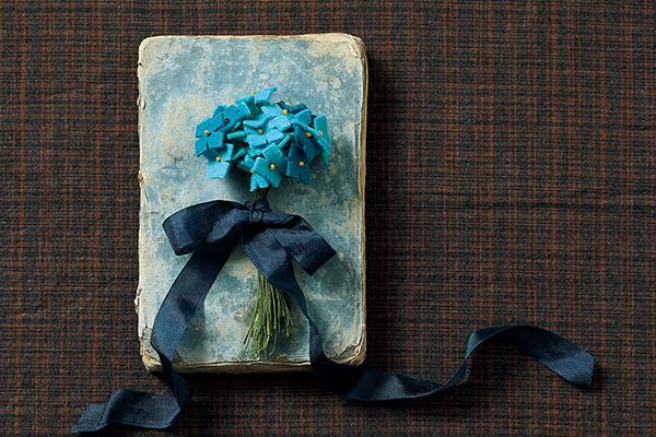 贈り物にもおすすめ フェルトでつくる紫陽花