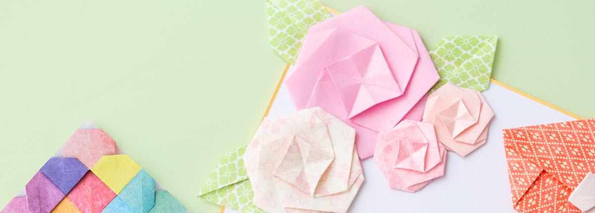 カミキィさん(前編)|色や柄を選んで折って、飾って贈って楽しんで。試行錯誤しながら生み出す、オリジナルのおりがみ作品