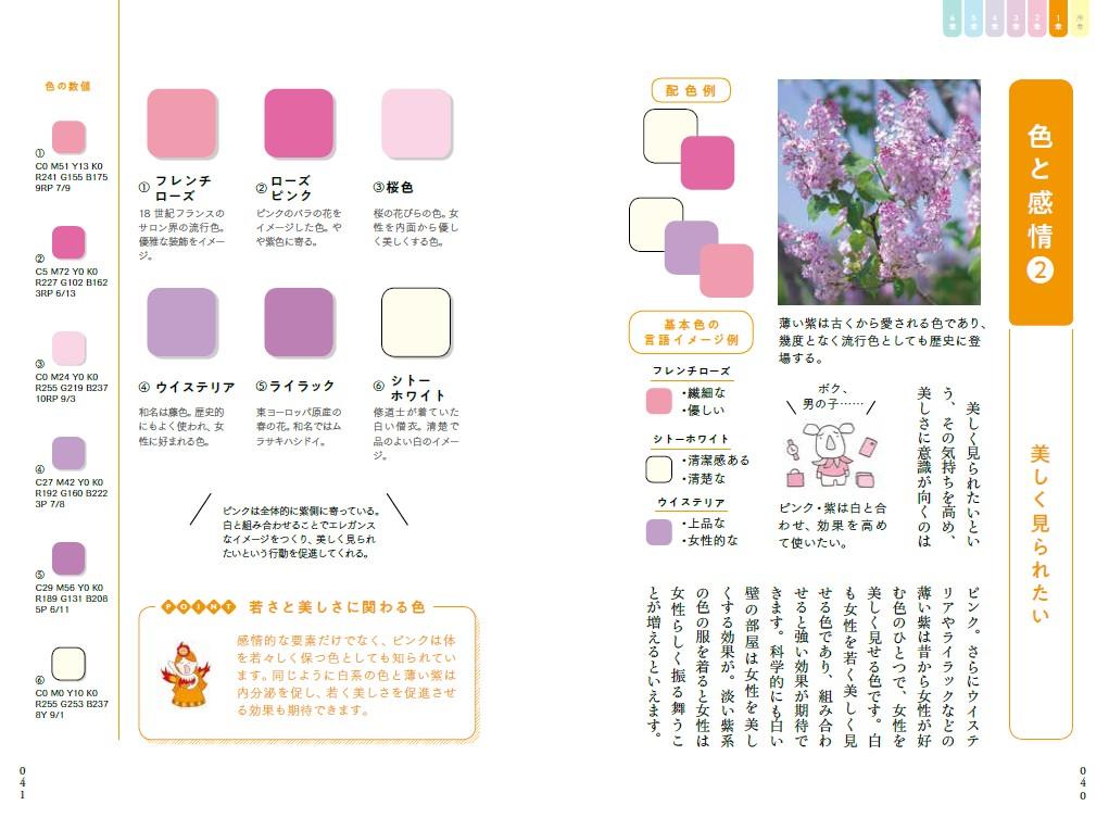 決定版 色彩心理図鑑