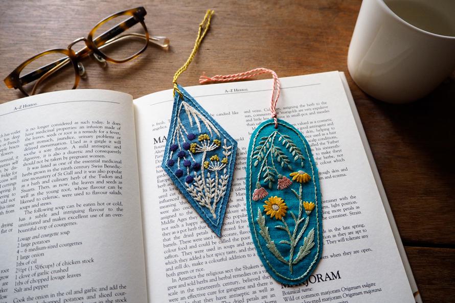 植物刺繍と季節のお話 第7話(後編)| 草花刺繍のしおり