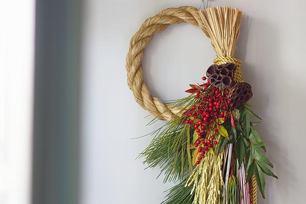 年神様をお迎えする しめ飾り|冬至その2