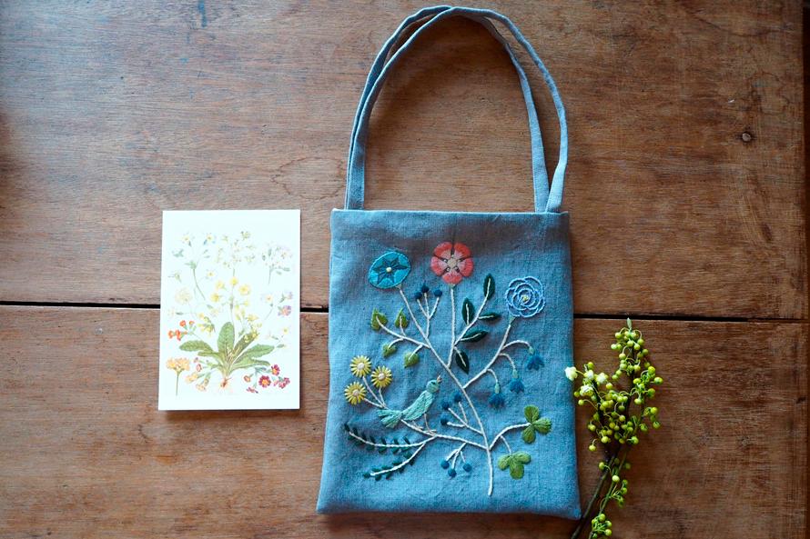植物刺繍と季節のお話 第11話(後編)|  空想植物の小さなバッグ