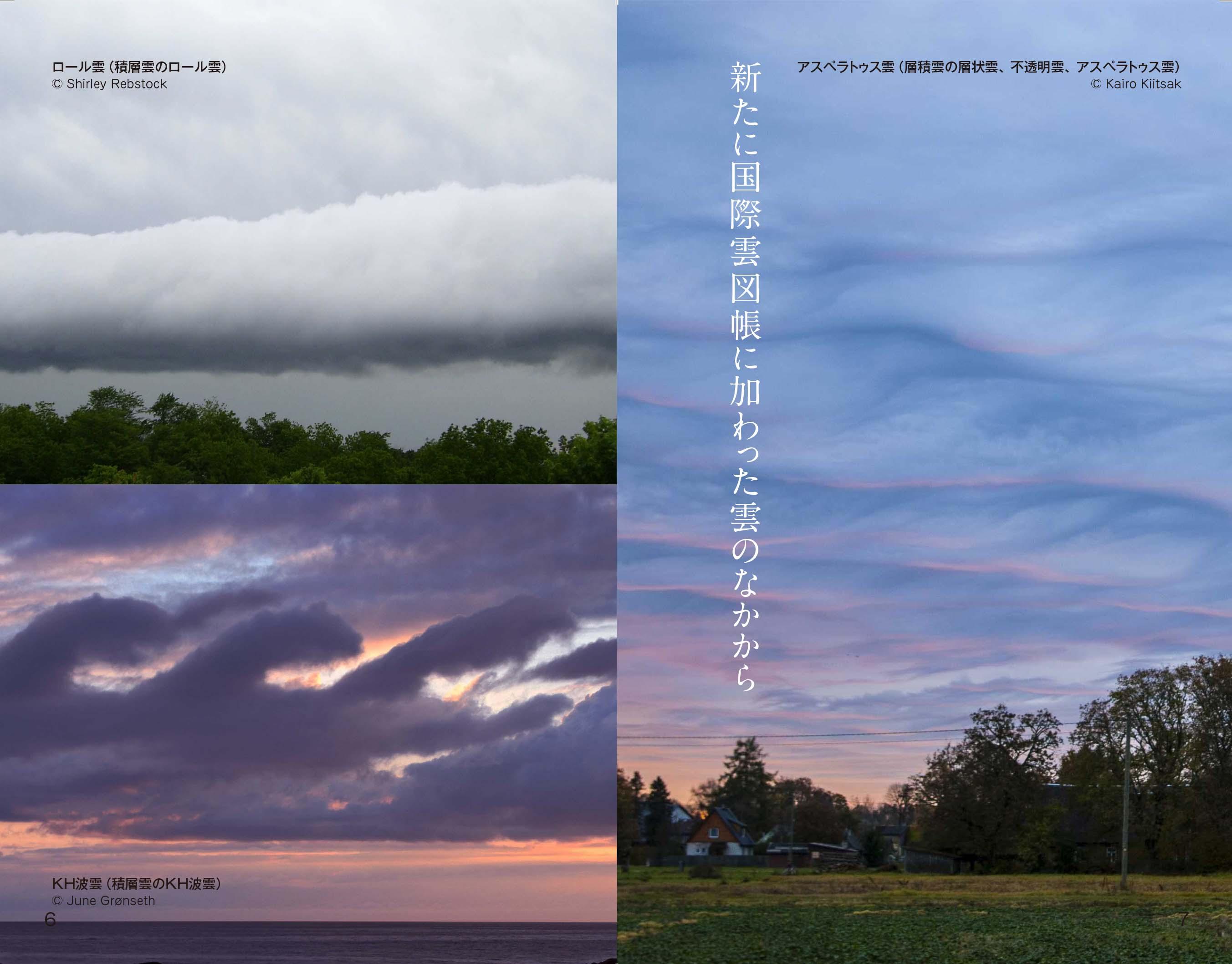 最新の国際基準で見わける雲の図鑑