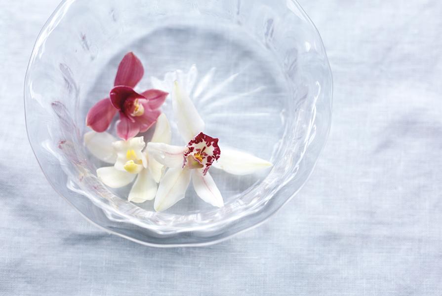 大暑 真夏はランの花がおすすめ『二十四節気 暦のレシピ』より