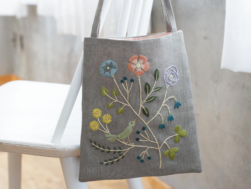 マカベアリスさん 空想植物の小さなバッグ
